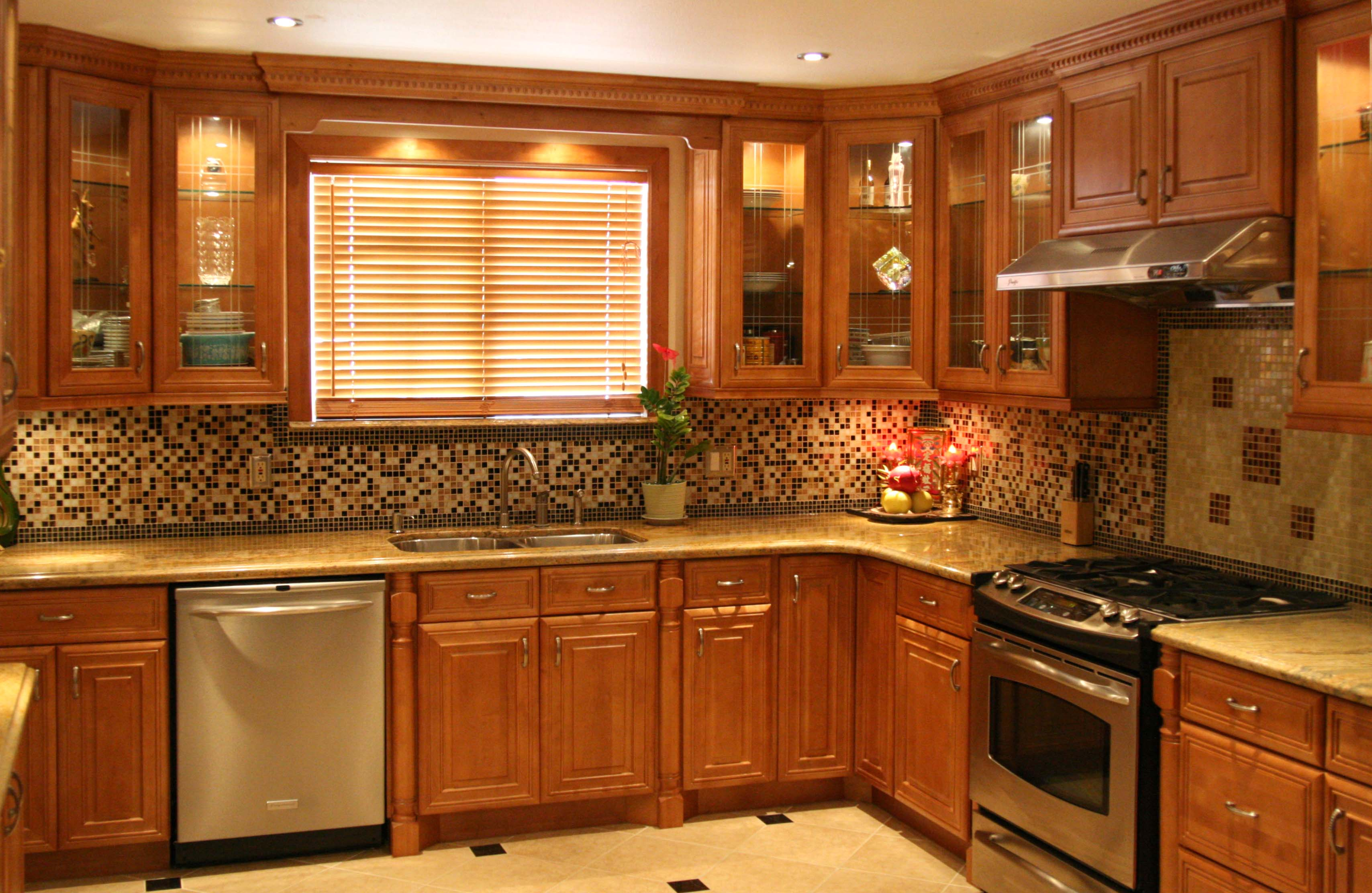 Cinnamon Colored Kitchen Cabinets